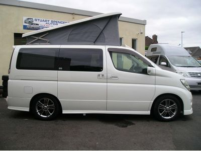 Nissan Elgrand Unlisted Camper conversion option [ EXAMPLE ]