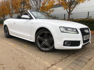 Audi A5 Cabriolet Convertible 2.0 TFSI S line Cabriolet 2dr