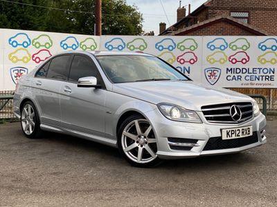 Mercedes-Benz C Class Saloon 3.0 C350 CDI BlueEFFICIENCY Sport 7G-Tronic 4dr (COMAND)