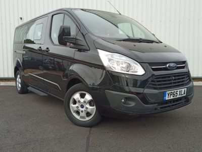 Ford Tourneo Custom Other 2.2 TDCi 300 Titanium Low Roof Bus L 5dr (8 Seats, LWB)