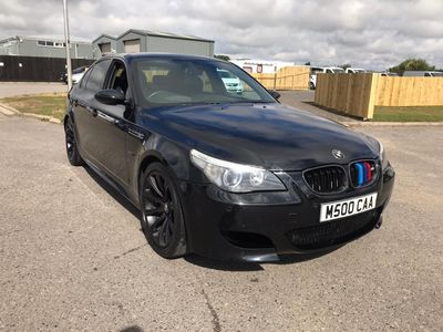 BMW M5 Saloon 5.0 SMG 4dr
