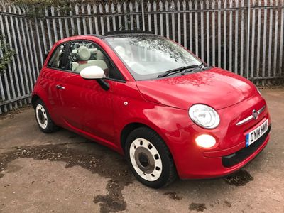 Fiat 500C Convertible 1.2 Colour Therapy (s/s) 2dr