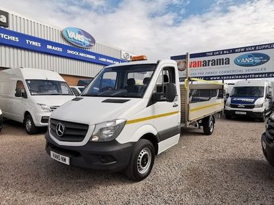 Mercedes-Benz Sprinter Dropside 314Cdi Dropside Tail Lift [EURO 6]