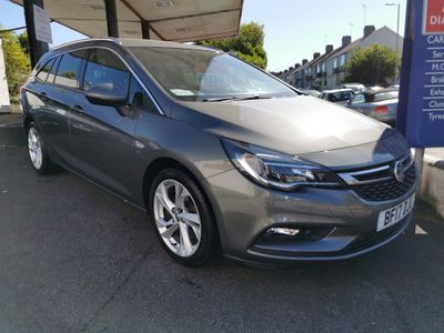 Vauxhall Astra Estate 1.6i Turbo SRi Nav Sports Tourer (s/s) 5dr