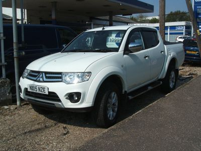 Mitsubishi L200 Pickup 2.5 DI-D CR Challenger Double Cab Pickup 4WD 4dr