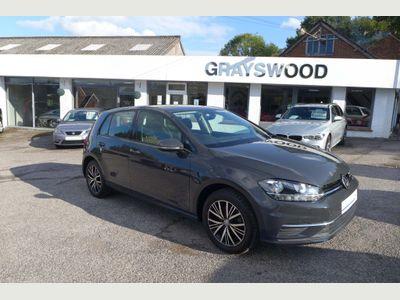 Volkswagen Golf Hatchback 1.4 TSI BlueMotion Tech SE Nav DSG (s/s) 5dr