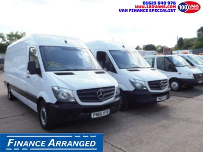 Mercedes-Benz Sprinter Panel Van 2.1CDI 314 140PS BOTH SOLD