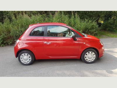 Fiat 500 Hatchback 1.2 Pop Hatchback 3dr Petrol Manual (s/s) (111 g/km, 69 bhp)
