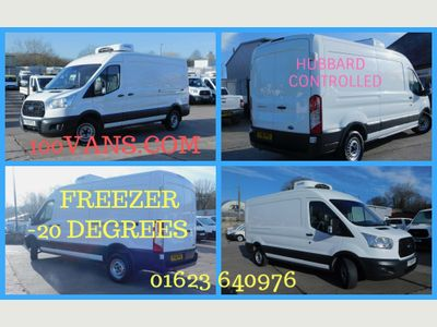 Ford Transit Temperature Controlled 2.2TDCI L3 FREEZER VAN -20 DEGREES