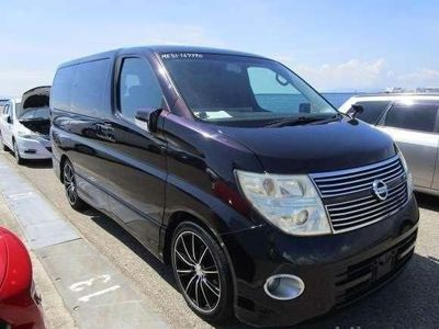 NISSAN ELGRAND MPV +250HIGHWAY STAR BLACK LEATHER EDITION+