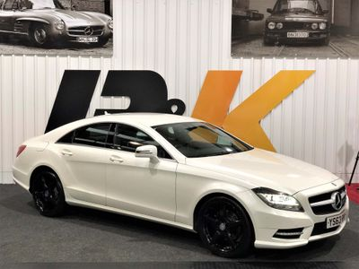 Mercedes-Benz CLS Coupe 2.1 CLS250 BlueEFFICIENCY AMG Sport 7G-Tronic Plus (s/s) 4dr
