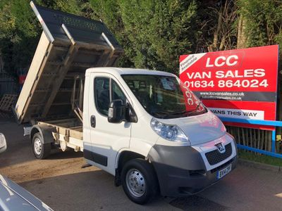 Peugeot Boxer Chassis Cab 2.2HDI L2 Tipper
