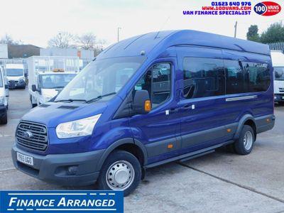 Ford Transit Minibus 2.2TDCI 130PS LE H4 17 SEAT MINI BUS