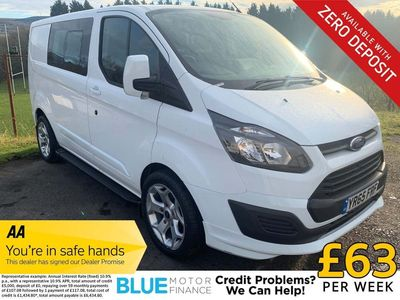 Ford Transit Custom Other 2.2 TDCi 270 L1H2 Double Cab-in-Van 5dr