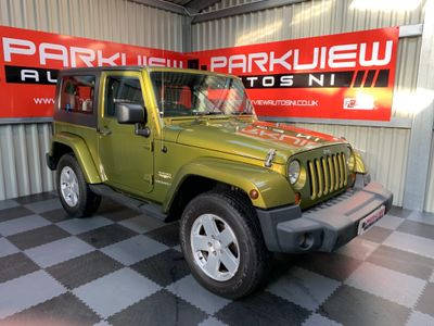 JEEP WRANGLER Convertible 2.8 CRD Sahara Soft top 4x4 2dr