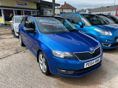 SKODA Rapid Spaceback Hatchback 1.6 TDI GreenTech SE Spaceback 5dr