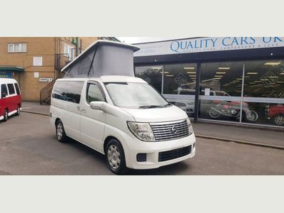 Nissan ELGRAND Campervan DEPOSITS NOW BEING TAKEN FOR OUR NEW BUILD 2.5 Auto Beautifully converted campervans BEAUTIFUL TO DRIVE ANYWHERE!
