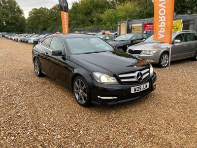 Mercedes-Benz C Class Coupe 2.1 C220 CDI BlueEFFICIENCY AMG Sport Sport Coupe 7G-Tronic Plus 2dr