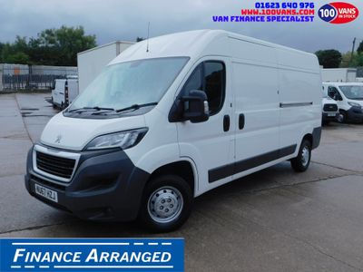 Peugeot Boxer Panel Van 2.0HDI BLUE EURO 6 L3H2 AIR CON CRUISE
