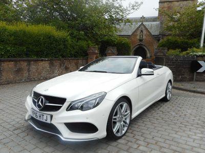 Mercedes-Benz E Class Convertible 2.1 E220d AMG Line (Premium) Cabriolet G-Tronic (s/s) 2dr