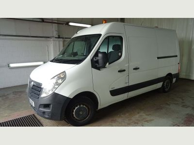 VAUXHALL MOVANO Panel Van 2.3 CDTI 16v 3500 Medium Roof Van 4dr