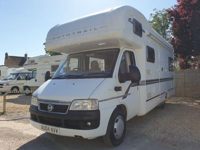 Auto-Trail Sorry Motorhome Now sold