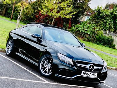 Mercedes-Benz C Class Coupe 4.0 C63 V8 BiTurbo AMG (Premium) SpdS MCT (s/s) 2dr