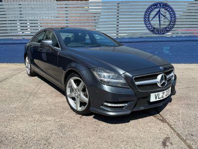 Mercedes-Benz CLS Coupe 2.1 CLS250 CDI BlueEFFICIENCY AMG Sport 7G-Tronic Plus 4dr