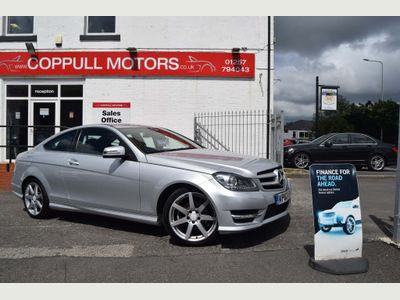 Mercedes-Benz C Class Coupe 2.1 C220 CDI BlueEFFICIENCY AMG Sport 2dr (COMAND)