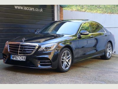 Mercedes-Benz S Class Saloon 3.0 S350L d AMG Line (Executive) G-Tronic+ (s/s) 4dr