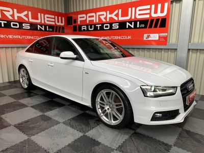 Audi A4 Saloon 2.0 TDI S line S Tronic quattro 4dr