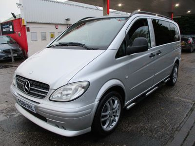 Mercedes-Benz Vito Other 3.0 120CDI Dualiner Sport X Compact Panel Van 5dr