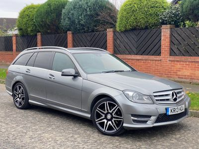 Mercedes-Benz C Class Estate 3.0 C350 CDI AMG Sport Plus 7G-Tronic Plus 5dr