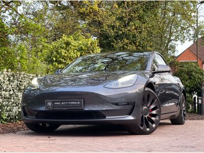 Tesla Model 3 Saloon Dual Motor Performance Auto 4WDE 4dr (Performance Upgrade)