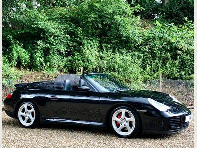 Porsche 911 Convertible 3.6 996 Carrera 4S Cabriolet AWD 2dr