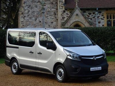 Vauxhall Vivaro Other 1.6 CDTi 2900 BiTurbo ecoFLEX L1 H1 EU5 (s/s) 5dr (9 Seat)