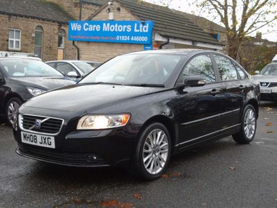 Volvo S40 Saloon 2.0 TD SE Lux 4dr