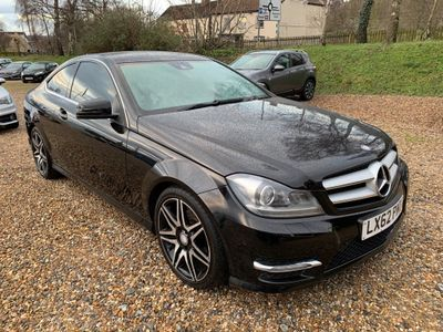 Mercedes-Benz C Class Coupe 1.6 C180 BlueEFFICIENCY AMG Sport Plus 7G-Tronic Plus 2dr