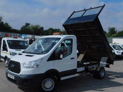 Ford Transit Tipper 2.2TDCI 350 L2 TIPPER 1 OWNER F/S/H