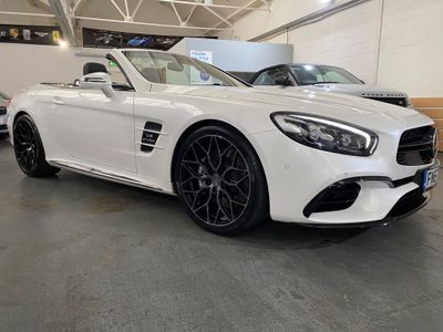 Mercedes-Benz SL Class Convertible 5.5 SL63 V8 AMG Roadster SpdS MCT (s/s) 2dr