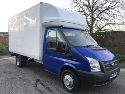 Ford Transit Luton 2.2 TDCi 350 Chassis Cab RWD EF 2dr (EU5, DRW, Extended Frame)