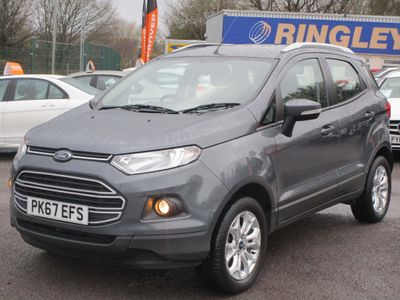 Ford EcoSport SUV 1.0T EcoBoost Zetec Auto (s/s) 5dr
