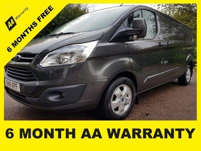 Ford Transit Custom Panel Van 2.2 TDCi 290 L2H1 Limited 5dr