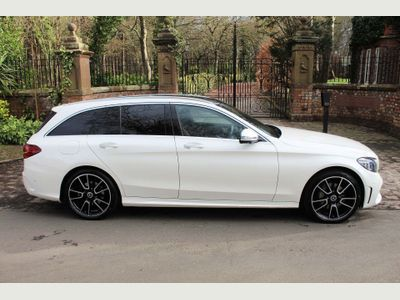 Mercedes-Benz C Class Estate 1.5 C200 EQ Boost AMG Line (Premium Plus) G-Tronic+ (s/s) 5dr