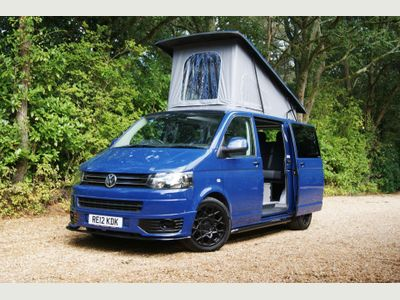 Volkswagen Transporter Van Conversion T5 2.0TDi SWB 4 Berth 6 Seat Surfwagon Day Van