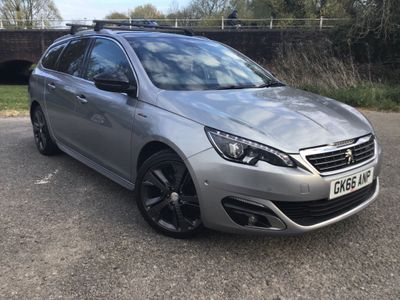 Peugeot 308 SW Estate 1.6 BlueHDi GT Line EAT6 (s/s) 5dr