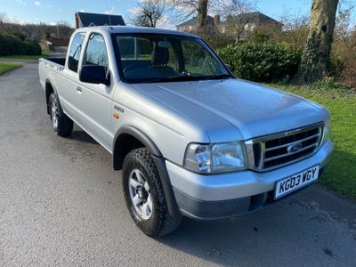 Ford Ranger Pickup 2.5 TDdi Super Cab Pickup 4x4 2dr