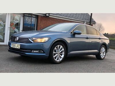 Volkswagen Passat Saloon 1.6 TDI BlueMotion Tech SE Business (s/s) 4dr