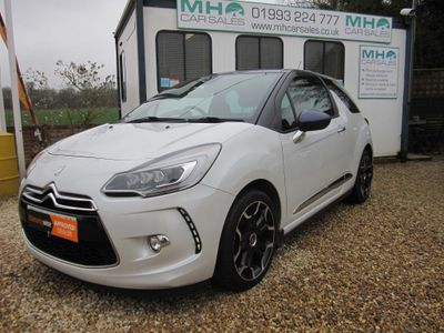 Citroen DS3 Hatchback 1.6 BlueHDi DSire Plus Blue 3dr
