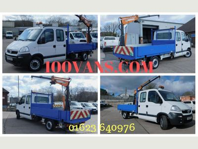 Vauxhall Movano Dropside SOLD SOLD SOLD